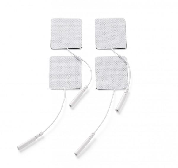 promed Gewebe-Elektroden 45x35, selbstklebend (4 Stück)