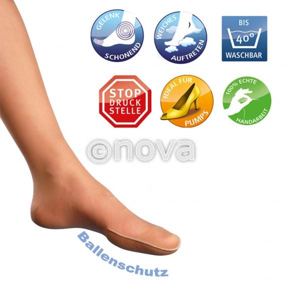 promed Damen-Socke mit Zehen oder Ballenschutz