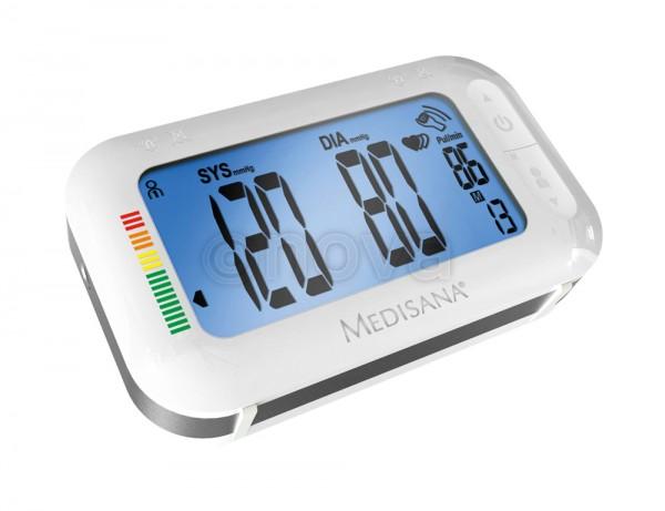 """Medisana 2in1 Oberarm-Blutdruckmessgerät """"BU 575 connect"""" - mit integriertem Reisewecker"""